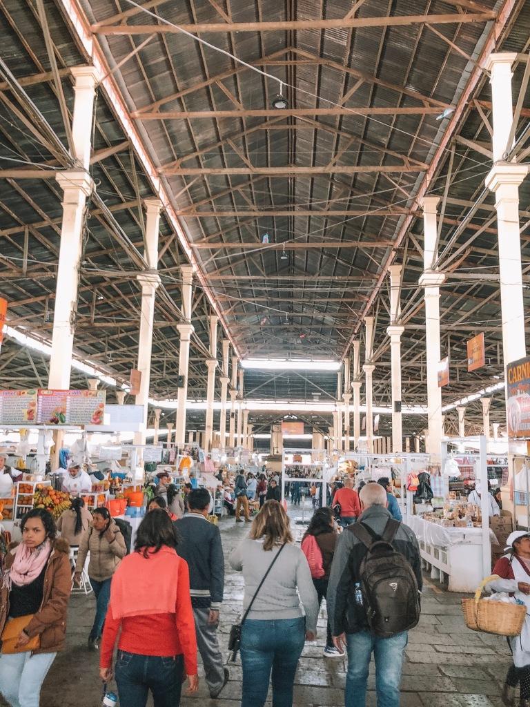 Inside San Pedro Market