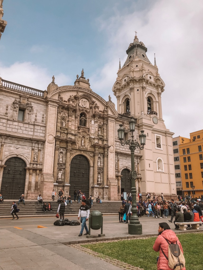 Lima Cathedral, Plaza de Armes